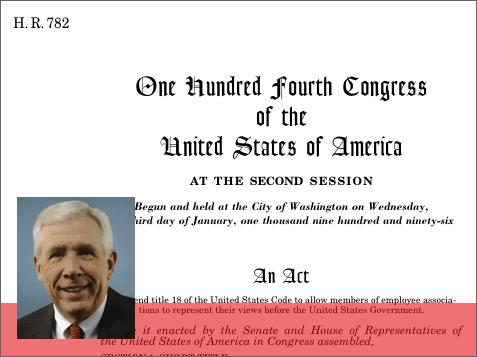 104th United States Congress