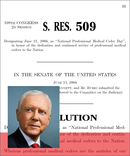 "A Resolution Designating June 21, 2006, As ""National"