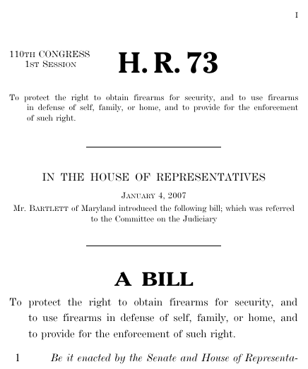 Thumbnail of bill text