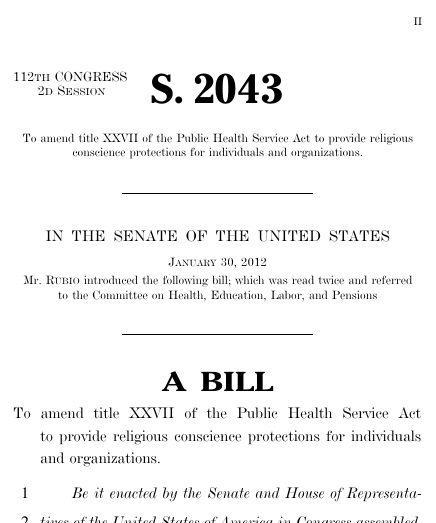 religious freedom restoration act Religious freedom restoration actbeginning in the 1960s, the us supreme court interpreted the free-exercise clause of the first amendment to provide significant protection for religiously motivated conduct.