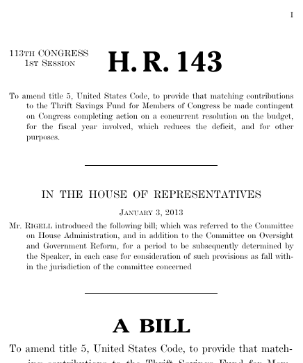 Lead by example act 2013 113th congress hr 143 govtrack thumbnail of bill text pronofoot35fo Gallery
