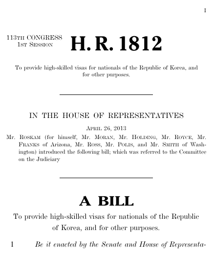 Partner with korea act 2013 113th congress hr 1812 govtrack thumbnail of bill text pronofoot35fo Choice Image