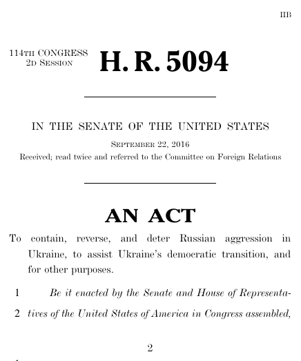 Stand for ukraine act 2016 114th congress hr 5094 govtrack thumbnail of bill text pronofoot35fo Choice Image