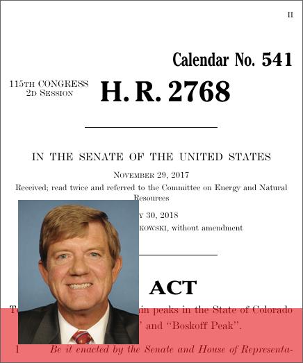 House Bill 2768 2