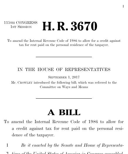 rent bill
