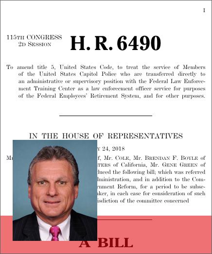 Law Enforcement Retirement Enhancement Act (2018