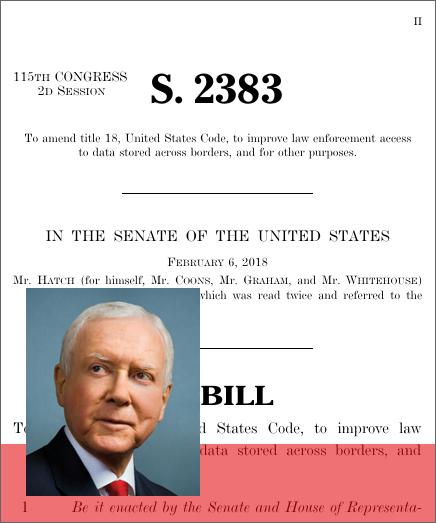 CLOUD Act (2018