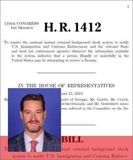 Illegal Alien NICS Alert Act (H R  1412) - GovTrack us