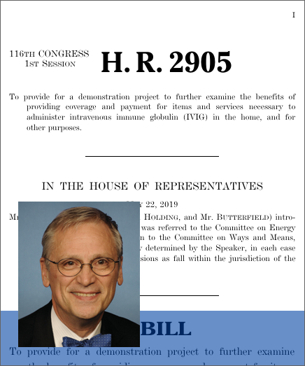 Medicare IVIG Access Enhancement Act (H R  2905) - GovTrack us