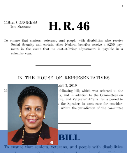Social Security Safety Dividend Act of 2019 (H R  46