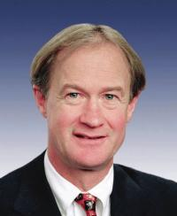 Photo of Sen. Lincoln Chafee [R-RI, 1999-2006]