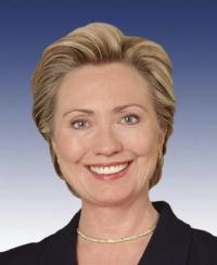 Photo of sponsor Hillary Clinton