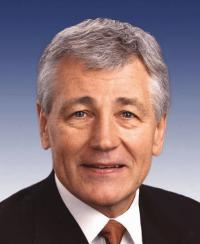 "Photo of Sen. Charles ""Chuck"" Hagel [R-NE, 1997-2008]"