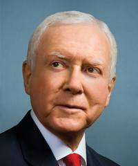 Photo of sponsor Orrin Hatch