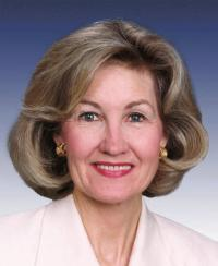 Photo of Sen. Kay Hutchison [R-TX, 1993-2012]