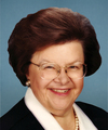 Photo of sponsor Barbara Mikulski