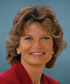Portrait of Lisa Murkowski