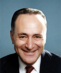 "Photo of sponsor Charles ""Chuck"" Schumer"
