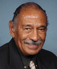 Photo of sponsor John Conyers Jr.