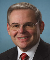 "Photo of sponsor Robert ""Bob"" Menendez"