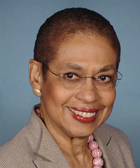 Photo of sponsor Eleanor Norton