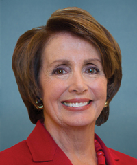 Photo of sponsor Nancy Pelosi