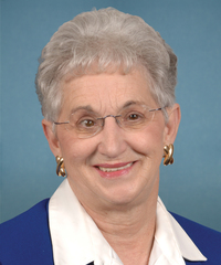 Photo of sponsor Virginia Foxx