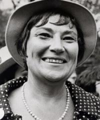 Photo of Rep. Bella Abzug [D-NY20, 1973-1976]