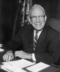 Photo of Sen. George Aiken [R-VT, 1941-1974]