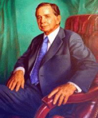 Photo of Rep. Carl Albert [D-OK3, 1947-1976]