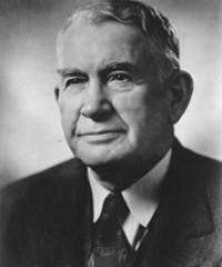 Photo of Sen. Alben Barkley [D-KY, 1955-1956]