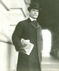 Photo of Rep. Perry Belmont [D-NY1, 1887-1889]