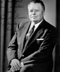 Photo of Sen. George Bender [R-OH, 1954-1956]