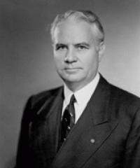Photo of Sen. John Bricker [R-OH, 1947-1958]