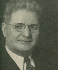 Photo of Rep. Albert Engel [R-MI9, 1935-1950]