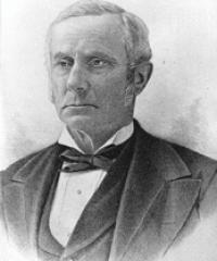 Photo of Sen. Graham Fitch [D-IN, 1857-1861]