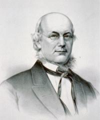 Photo of Rep. Horace Greeley [W-NY6, 1847-1849]