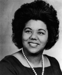 Photo of Rep. Katie Hall [D-IN1, 1981-1984]
