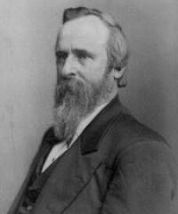 Photo of President Rutherford Hayes [R, 1877-1881]