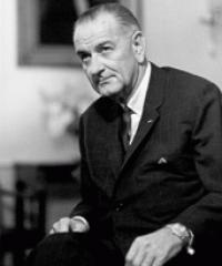 Photo of President Lyndon Johnson [D, 1963-1969]