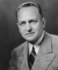 Photo of Sen. Scott Lucas [D-IL, 1939-1950]