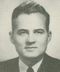 Photo of Rep. Edwin May [R-CT1, 1957-1958]
