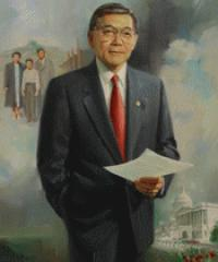 Photo of sponsor Norman Mineta