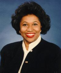 Photo of Sen. Carol Moseley Braun [D-IL, 1993-1998]
