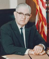 Photo of Rep. Thomas Steed [D-OK4, 1949-1980]