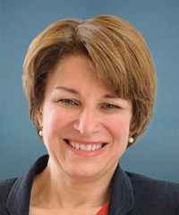 Photo of sponsor Amy Klobuchar