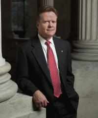 Photo of Sen. Jim Webb [D-VA, 2007-2012]