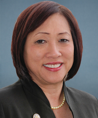Photo of sponsor Colleen Hanabusa