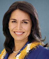 Photo of sponsor Tulsi Gabbard