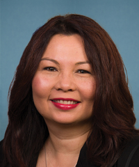Photo of sponsor Tammy Duckworth